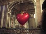 Hanging Heart de Jeff Koons au château de Versailles